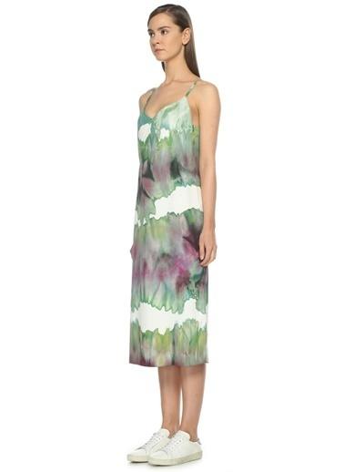 Acne Studios Askılı Uzun Elbise Renkli